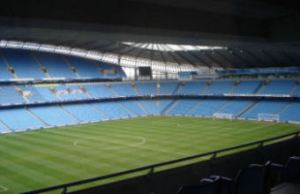 City of Manchester Stadium.