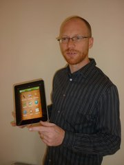 Neil Ballantyne and the MyWordBook app