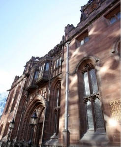 The John Rylands library, Deansgate