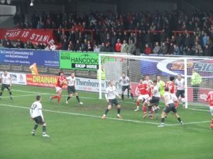 Image of a football match