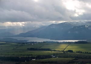 Bassenthwaite Lake from Caermote Hill