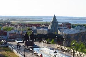 View over Khanty-Mansiysk