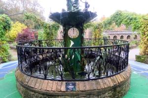 Herb Garden fountain